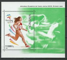 Romania 2000 Olympic Games - Sydney MNH Block