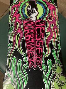 Old School Reissue Skateboard Deck Jesse Martinez handshake Deck.. Hand Screened