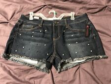 No Boundaries Pearl Studded Shorts Size 15