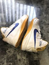 Used Nike PROMO Hyperfuse 2012 /13 Steph Curry Warriors PE Sz 13 Authentic Rare