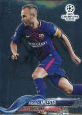 2017-18 Topps Chrome UEFA Champions League #94 Andres Iniesta FC Barcelona