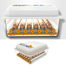 24 Small Egg Digital Egg Incubator Hatcher Temperature Control Automatic Turning