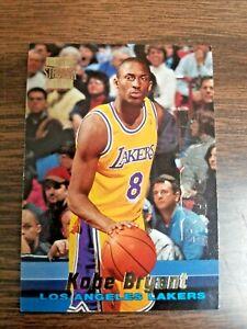 KOBE BRYANT 1996 TOPPS STADIUM CLUB CARD #R12 LOS ANGELES LAKERS (ROOKIE)
