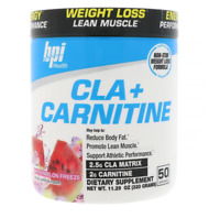 NEW BPI SPORTS CLA+ CARNITINE NATURAL ENERGY LEAN MUSCLE DIETARY SUPPLEMENT CARE