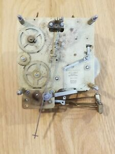 Vtg Franz Hermle 87 341-020 MOVEMENT 33.5cm  CHIME AS IS FOR PARTS