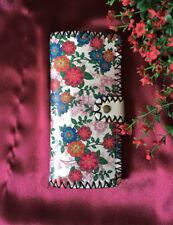 Designer Vinyl Leather Floral 'Daisies' Ladies Wallet