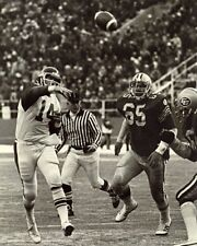 Cfl 1977 Grey Cup Game Staple Gun Game Qb Sonny Wade Game Action 8 X 10 Photo