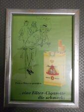 HB alte Reklame im Bilderrahmen (68)