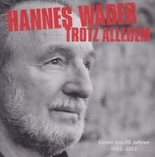 Hannes Wader / Trotz Alledem -Lieder aus 50 Jahren - Best of (2 CDs, NEU! OVP)