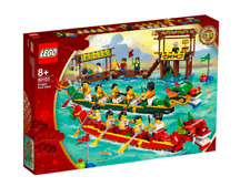 LEGO 80103 Dragon Boat Race Chinese New Year Retired Rare NEW