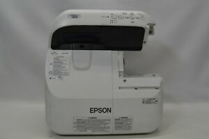 Epson PowerLite 585W 10000:1 3300 Lumens 3LCD Video Projector w/Lamp *No Remote*