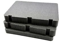 3pc Benchmark Solid HD Military grade foam fits Plano 109170 Field Locker case