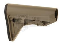 PTS SYNDACATE Enhanced Polymer Stock Compact EP CALCIO AIRSOFT TAN DE