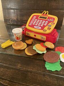 McDonalds Talking Cash Register & Accessories (WORKS