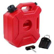 5L Motorcycle Car Fuel Petrol Gas Gasolin Oil Tank Can Container