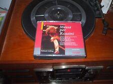 MESSA PER ROSSINI Helmuth Rilling 2 CD FATBOX SET HANSSLER IMPORT