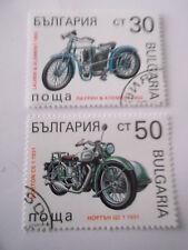 1992 Bulgaria Motor Cycles used Mi.4005/10