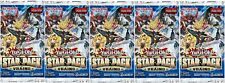 YuGiOh! Star Pack 18 VRAINS 1st Edition New And Sealed Booster Packs x5