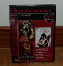 BERLIN INTERIOR-IMPERIO DE LA PASION-GIRL PLAY NUEVO PRECINTADO CINE EROTICO DVD