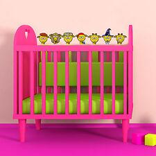 Girafe Gang Couleur Complète Vinyle Décalque Enfants Bébé Mur Chambre À Coucher