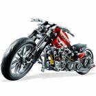 378Pcs Technic Motorcycle Exploiture Model Harley Building Toy Bricks Block Gift