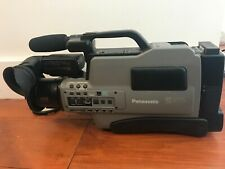 Vintage Panasonic Ag-455 S-Vhs Analogue Video Camera Vhs Camcorder Pro Head