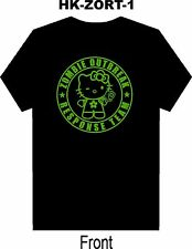 Hello Kitty Zombie Response Team Halloween T Shirt