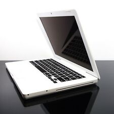 BLACK  Silicone Keyboard Skin Cover for OLD Macbook 13""