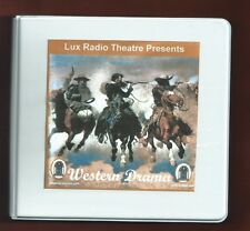 WESTERNS~8 CD GIFT SET~OTR RADIO SHOWS~John Wayne~Henry Fonda~James Stewart~more