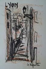 Georges LAPORTE (1926-2000) Technique mixte/papier Lyon P1796