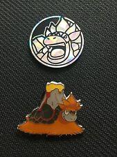 Pokemon Mega Camerupt EX Promo Collector PIN & COIN Combo NEW