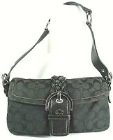 Coach 050-6314 Canvas/Leather Signature Soho Shoulder Bag/Purse
