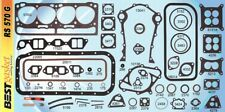 Ford 279 302 332+Lincoln 317 Y-Block Full Engine Gasket Set BEST 1952-63*