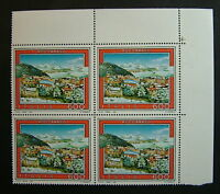 1991 Italia cuarteto Turismo Roccaraso 600 liras MNh