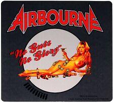 Sticker Airbourne No Guts No Glory Women Money Liquor Art Rock Music Band Decal