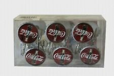 in Package 12 COCA-COLA Vintage Shower Curtain Hooks