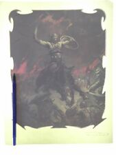 FRANK FRAZETTA art CONAN CONQUEROR cover, vintage t-shirt iron-on original!