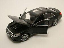 Mercedes S-Class 2013 - Black, Model Car,  Welly 1/24 Scale