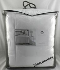 Hotel Collection Locked Geo Full / Queen Comforter White $420