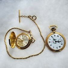 Lot of 2 Arnex Swiss Made Vintage Antique Pocket Watches