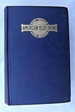 1915 Herringshaw's AMERICAN BLUE-BOOK OF BIOGRAPHY / 30,000 Prominent Americans