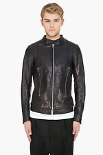 Diesel Black Gold labrasiv Veste en cuir taille 44 (XS) 100% Authentique