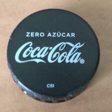 COCA COLA ZERO COKE CAP CAPS TAPON PLASTIC