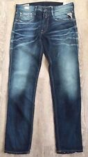 Mens Replay Jeans Anbass 31 x 34 Slim  Fit New  Tags Authentic RRP£150