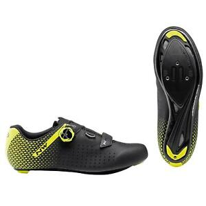 Northwave Core Plus 2 Road Cycling Shoes In Black / Yellow