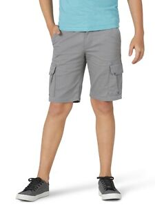 Wrangler - BOYS 4 Regular - Cargo Shorts - ADJUSTABLE WAIST - Sharkskin Grey