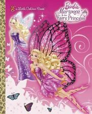 Mariposa and the Fairy Princess Barbie Little Golden Book