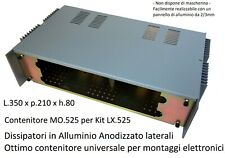 Mo.525 Container New Electronics 350x210x80 Universal Aluminum Heatsinks