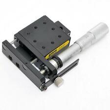 Parker Daedal 4054M Ball Bearing Slide with Starrett 0-25mm Micrometer Adjuster