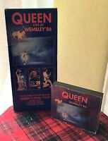 Queen Live At Wembley 86 Doppio CD Hollywood Records 1992 Raro Case HR-61104-2